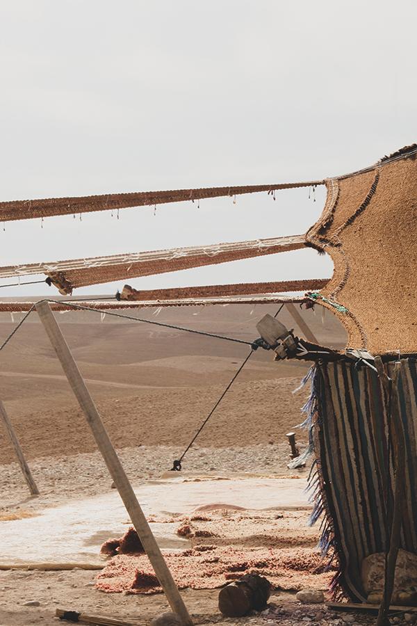 Le désert d'Agafay au Maroc par Matthieu Coin