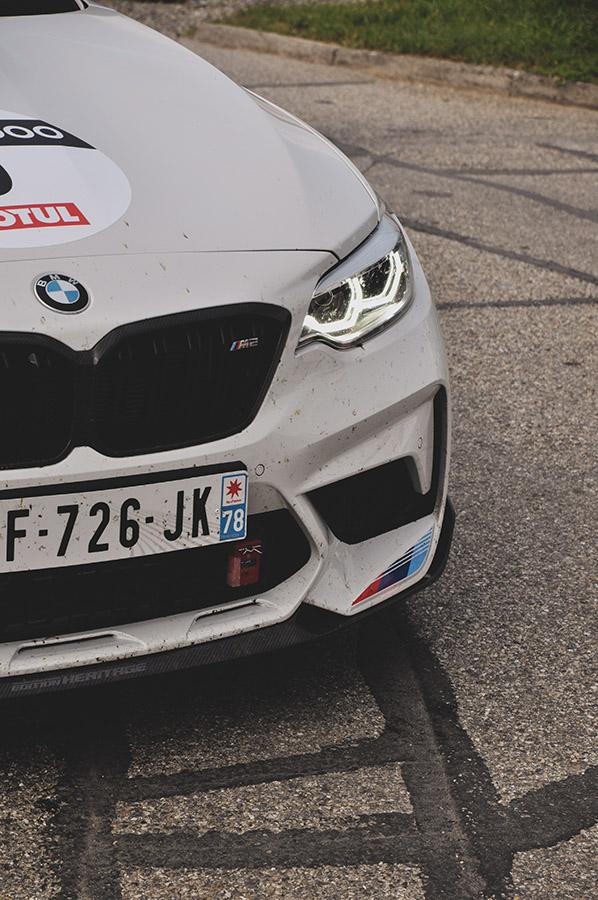 BMW M2 photographie par Matthieu Coin