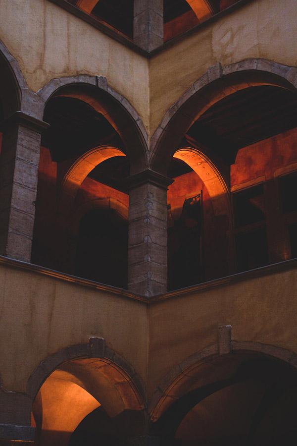 Photographie cour des loges par Matthieu Coin