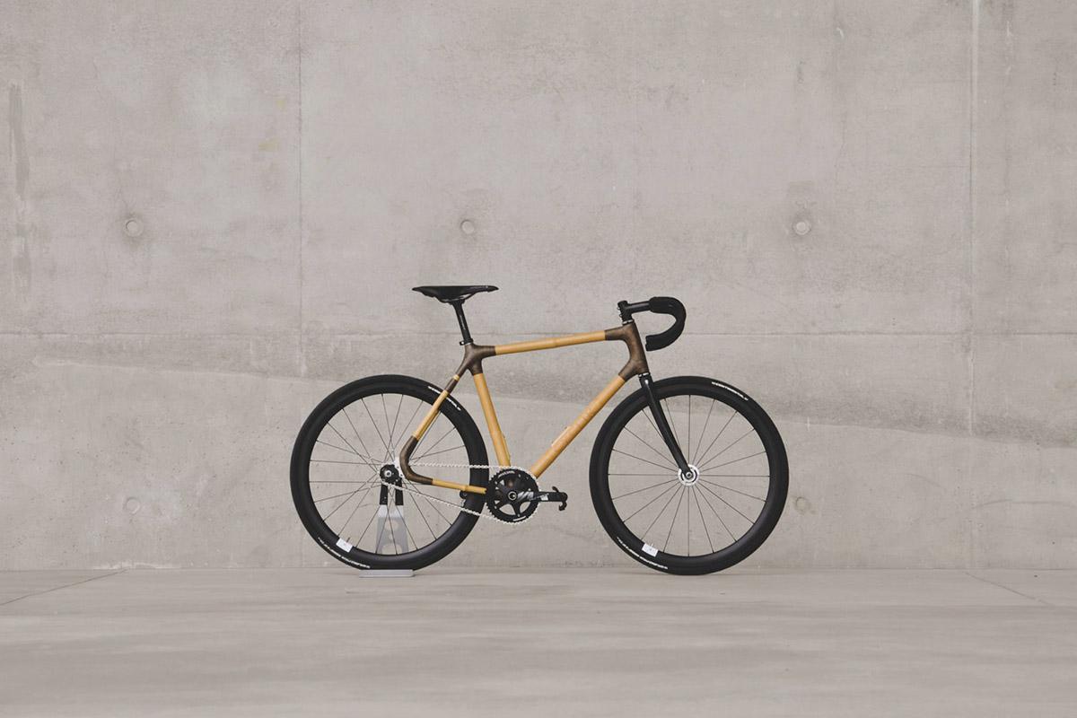 Vélo en bambou Cyclik par Matthieu Coin