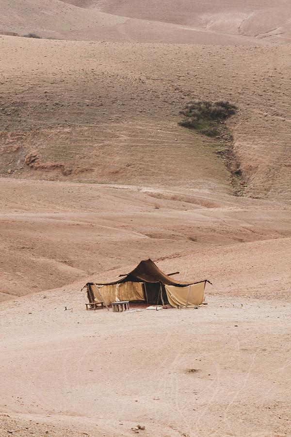 Le désert d'Agafay par Matthieu Coin