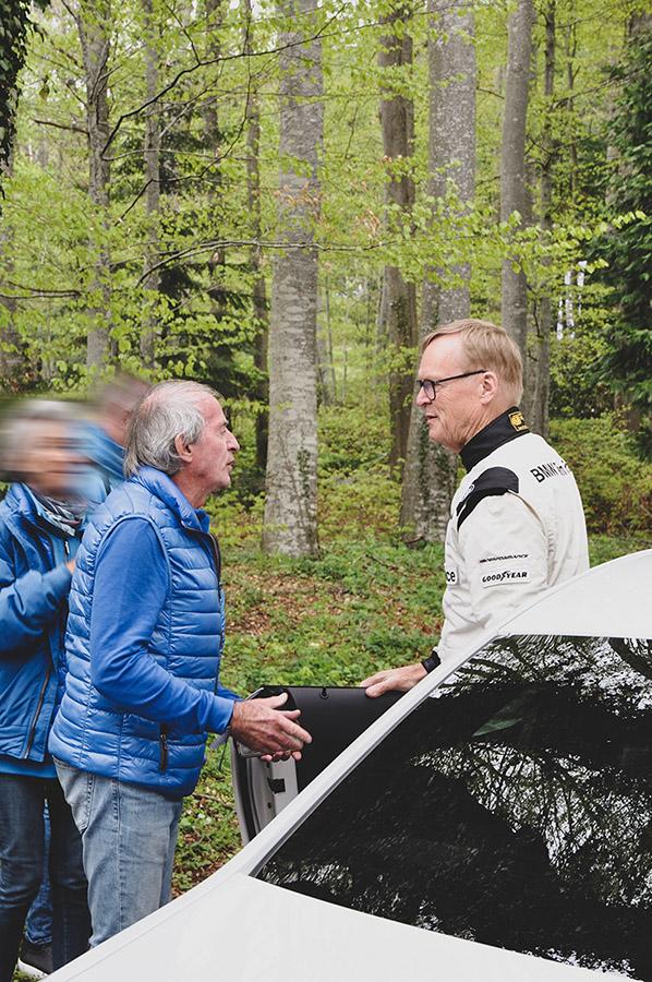 Jacques Lafitte et Ari Vatanen par Matthieu Coin