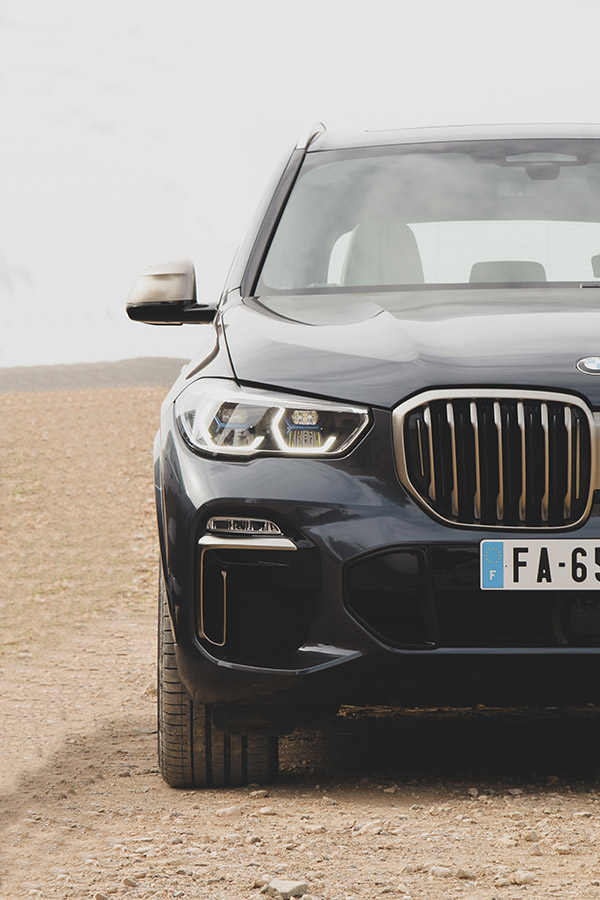 Photographie automobile du BMW X5 par Matthieu Coin