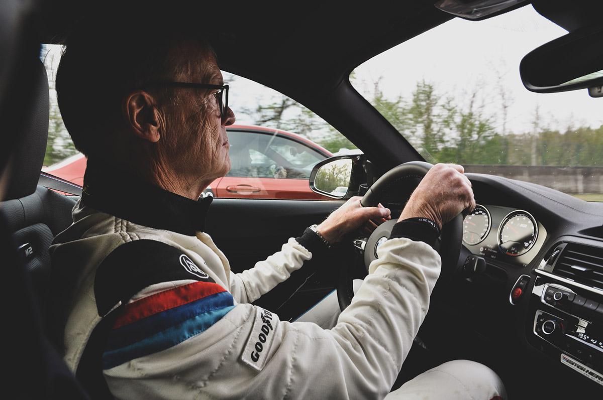Photographie Ari Vatanen par Matthieu Coin